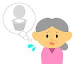 腹圧が弱って尿漏れが気になる中年女性