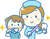 歯科衛生士さんの歯みがき指導