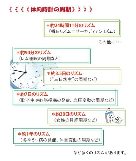 体内時計の周期