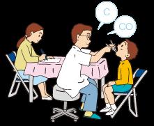 学校歯科医が訪問、健診