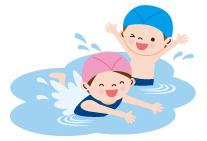 プールの水から感染
